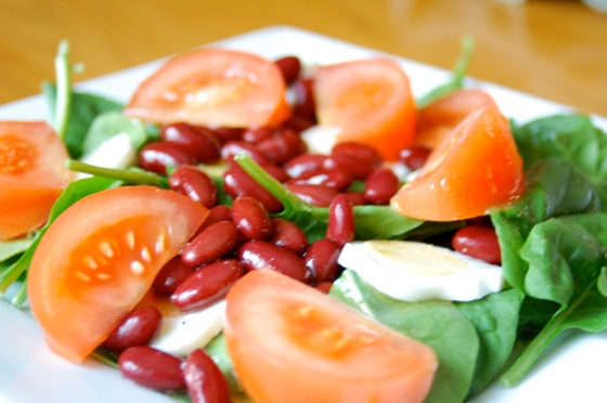 High Protein Vegetarian Salad Recipe